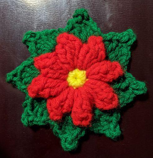 Christmas Flower Ornament